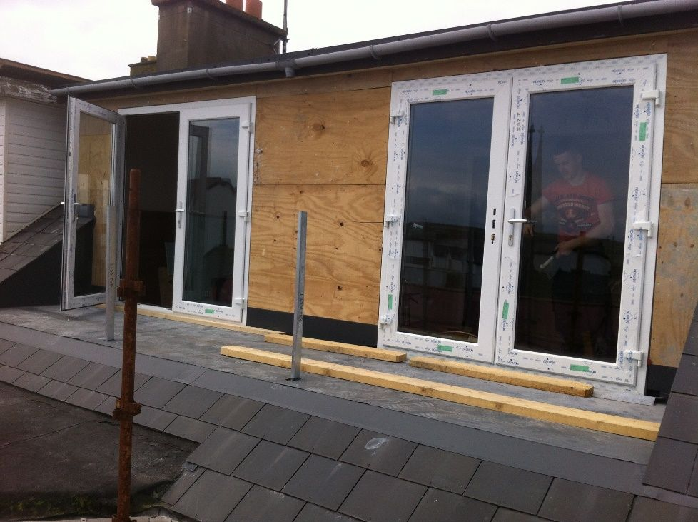 Top Floor Apartment Dormer Window To Balcony Conversion